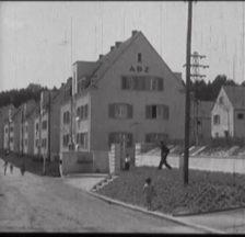 Kolonie Entlisberg I, Filmstill aus «Das genossenschaftliche Zürich» (CH 1928)