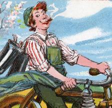 Arbeiter-Radfahrer-Bund Solidarität, um 1920 (Ausschnitt)