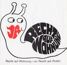 Initiative Recht auf Wohnen vom 27.9.1970