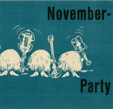 November-Party (Ausschnitt), Albisriederhaus, 1965 (SMA, Sammlung Mumenthaler)