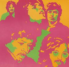 Jimi Hendrix Experience (Ausschnitt),  Hallenstadion, 1968 (SMA, Sammlung Mumenthaler)