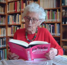 Marthe Gosteli, um das Jahr 2000 (Quelle: Gosteli-Stiftung)