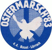 Ostermarsch 1983 Basel-Lörrach (SozArch F 5045-Ob-072)