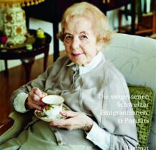 Buchcover (Ausschnitt) mit Bea Laskowski-Jäggli (1917-2016), die in den 1940er Jahren nach England migrierte
