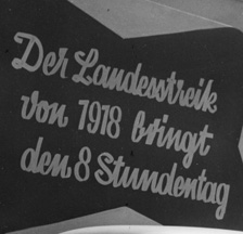 Deutung des Landesstreiks als sozialpolitische Initialzündung, 1951 (SozArch F 5047-Fb-142)
