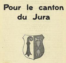 Broschüre des Comité séparatiste du Jura von 1919 (SozArch Hf 3042)