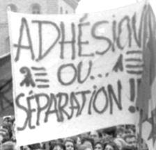 Jurassische Demonstration auf dem Bundesplatz im Vorfeld der Kantonsgründung (SozArch F 5032-Fc-0874)