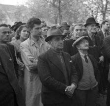 Ernst Koehli: Streik des Warenhauspersonals von Oscar Weber, Zürich, 1946 (SozArch F 5144-0852-Nc-001)