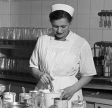 Ernst Koehli: Pflegerinnenschule Zürich, 1950 (SozArch F 5144-0234-Nc-005)