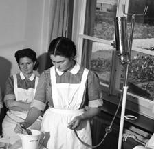 Ernst Koehli: Pflegerinnenschule Zürich, 1950 (SozArch F 5144-0234-Nc-011)