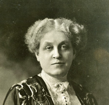 Carrie Chapman Catt (SozArch F Fb-0007-34)