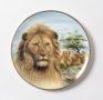 Porzellanteller mit Löwe (Kensington Collection), 1994