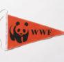 Oranger WWF-Wimpel, 1990er Jahre
