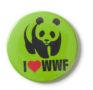 Grüner WWF-Pin, 1990er Jahre
