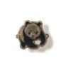 Pin in Form des WWF-Panda-Logos, 1960er Jahre