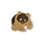 Pin in der Form des WWF-Panda-Logos, um 1970