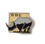 Pin mit Nashorn, um 1990