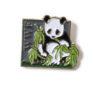 Pin mit Panda, um 1990