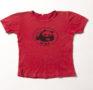 Rotes T-Shirt, 1960er Jahre
