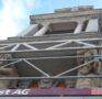 Renovationsarbeiten an der ehemaligen Volksbank