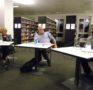 Gipfeltreffen in der Stadt- und Regionalbibliothek Uster