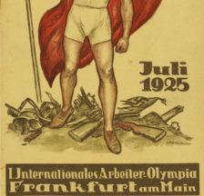 Begleitheft zur ersten Arbeiterolympiade in Frankfurt (Signatur: 70/16a-9)