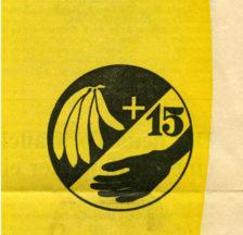 »Zum Beispiel Bananen»: Bananenaktion, Frauenfeld, Mai 1977