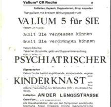 Flyer (Ausschnitt) zur kantonalzürcherischen Abstimmung vom 26.9.1982 über den Bau einer Psychiatrischen Klinik für Kinder und Jugendliche (SozArch Ar 578: Archiv VUA)
