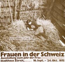 Ausstellung zum «Jahr der Frau» 1975, mitorganisiert vom Sozialarchiv