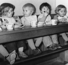 Kinderkrippe Neustadtgasse, um 1956