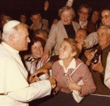 Johannes Paul II. empfängt Mitglieder der KAB