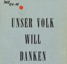 Die Broschüre der «Schweizer Spende an die Kriegsgeschädigten» wurde in einer Auflage von 1.5 Millionen Exemplaren verbreitet und stiess auf grosse Resonanz