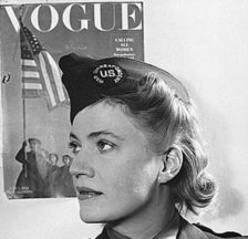 Lee Miller in Uniform, London 1944