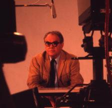 Aufnahmen aus dem Studio der Standard-Film in Wallisellen, Juli 1971: Max Frisch im Gespräch.