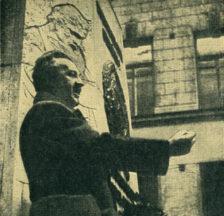 Dr. Max Tobler, Gipskopf von Alis Guggenheim, um 1925 (Sozarch_F_Oa-5234)