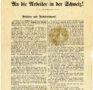 """""""An die Arbeiter in der Schweiz!"""" (1892)"""