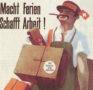 """""""Macht Ferien – Schafft Arbeit!"""" (Flugblatt, um 1930)"""