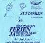 """""""Ausspannen – Auftanken"""" (Flugblatt von SGB und SPS, 1985)"""