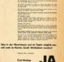 """""""Drei Wochen Ferien für alle"""" (Flugblatt, 1965)"""