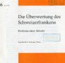 Die Überbewertung des Schweizerfrankens (1975)