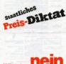 Staatliches Preis-Diktat: nein (1982)